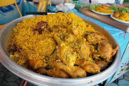 Food at the Festival: Khao Mohk Gai