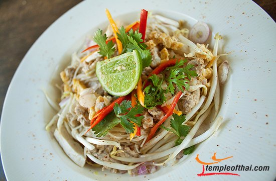 Mee Kati, Rice Noodles in Coconut Milk