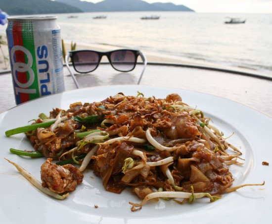 Char Kway Teow, Malaysian fried noodles