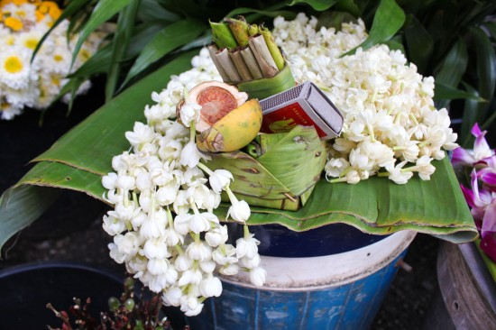 Jasmine, tobacco, and betel nut