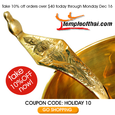 Take 10% off at Temple of Thai!
