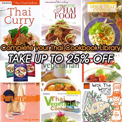 Thai Cookbook Sale