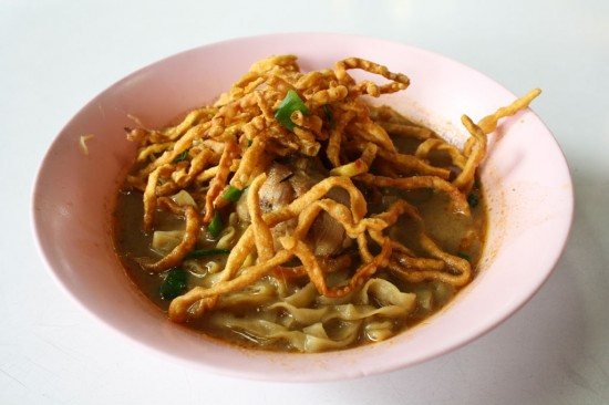 Thai Khao Soi with Chicken