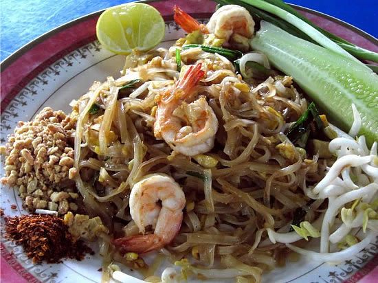 Pad Thai Goong (Pad Thai with Shrimp)