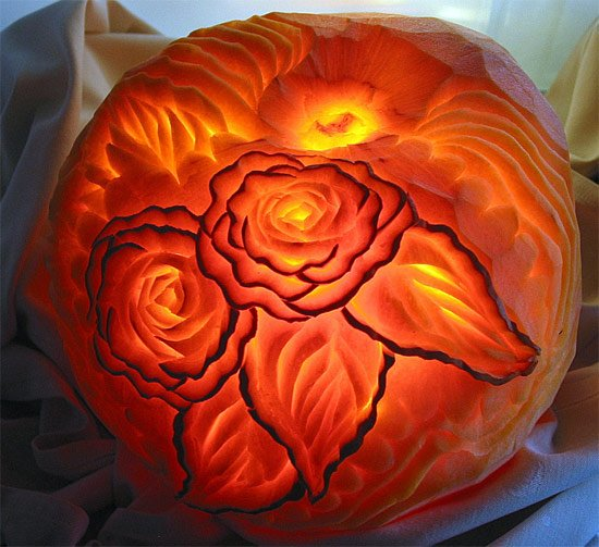 Creative pumpkin carving by american chefs temple of