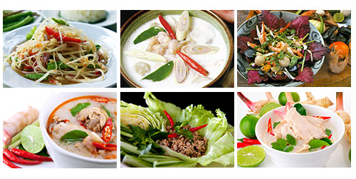 Classical Thai Soups and Salads
