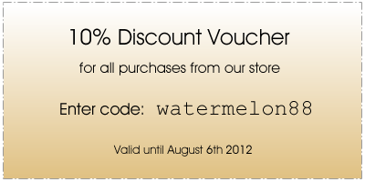 Watermelon Carving Discount Voucher