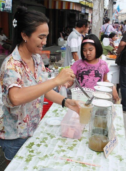 Thai Herbal Drink Vendor