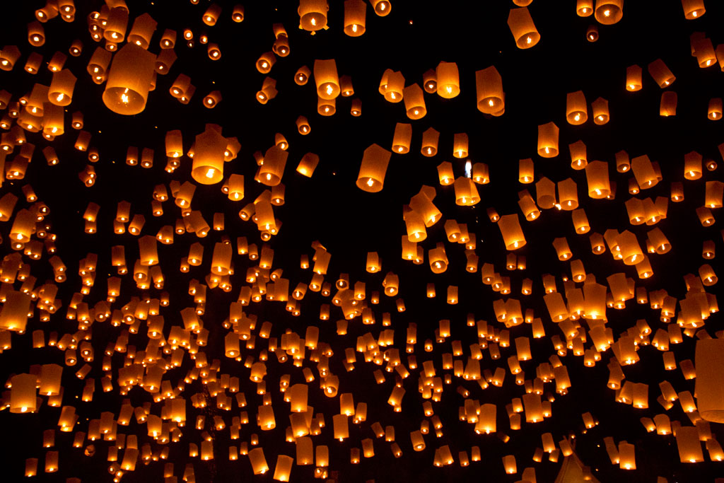 Loy Kratong And Yi Peng Festivals