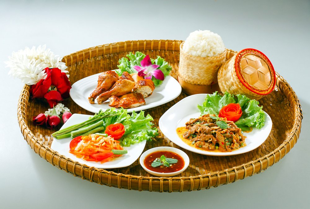 Traditional Thai Isan Food