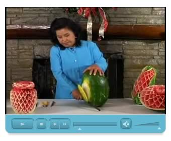 Watermelon Carving Video