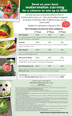 Watermelon Carving Contest
