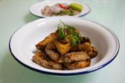 Vege Recipe: Tofu with Garlic & Pepper