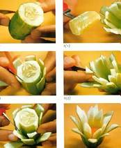 White lotus carving instructions