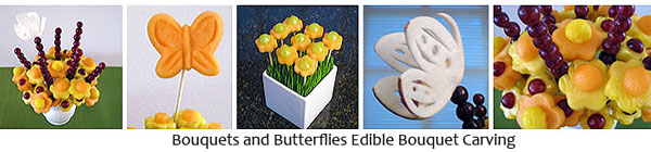 Edible Bouquet Carving DVD