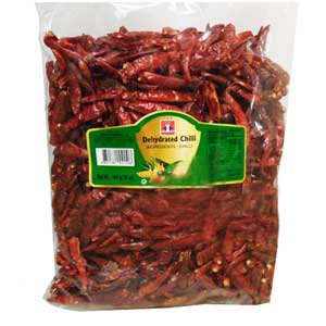Dried Whole Red Chili Peppers