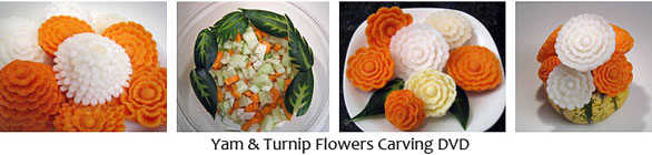 Carved Yams & Turnips DVD
