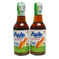 Squid brand fish sauce 2 x fl oz temple of thai for Thai kitchen fish sauce