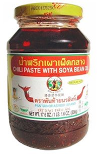 Chili Paste Soya Bean Oil (Nam Prik Pao)