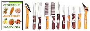 Carving Knife Set & Book