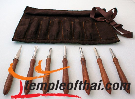 Soap carving tools set