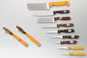 Kiwi & Kom-Kom Fruit & Vegetable Garnishing Knives and Tools Set