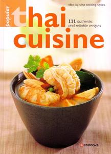 Popular thai cuisine cookbook sangdad books temple of thai popular thai cuisine cookbook forumfinder Choice Image