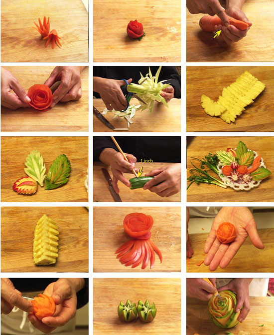 How to fruit carving dvd