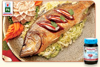 Steamed Sea Bass with Thai Chili Paste