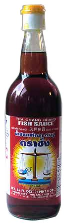 Tra chang fish sauce scale brand 24 fl oz temple of thai for Fish sauce brands