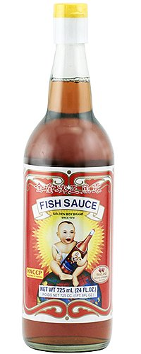 Golden boy fish sauce 23 fl oz temple of thai for Thai kitchen fish sauce