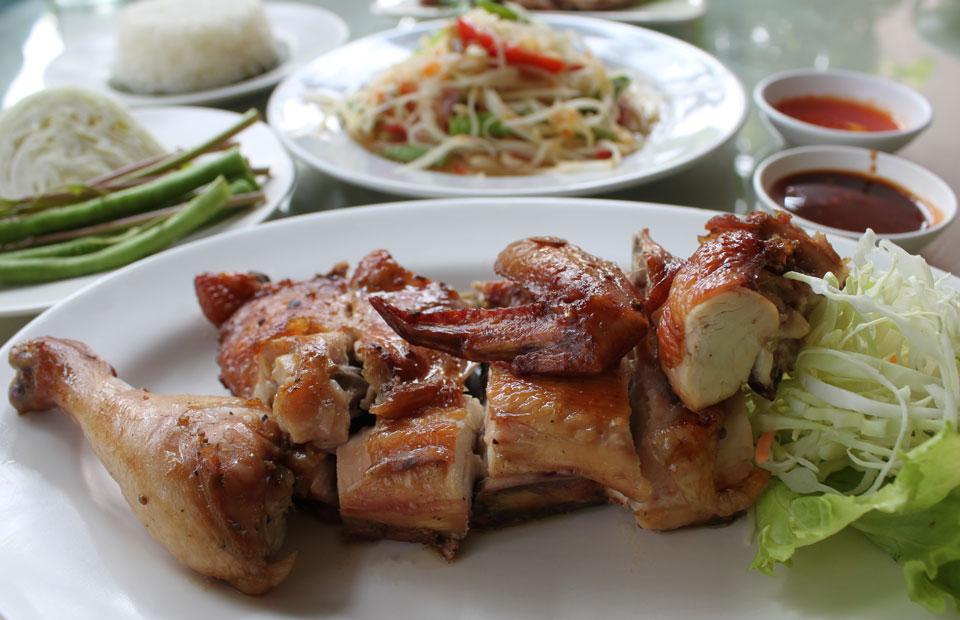 Thai Chicken Bbq Recipe Gai Yang Temple Of Thai
