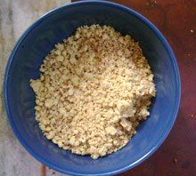 Pulverized Peanuts for Satay Sauce