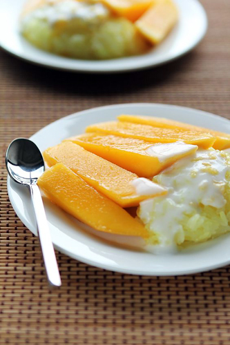 Sticky Rice with Mango (Khao Neow Ma Muang)