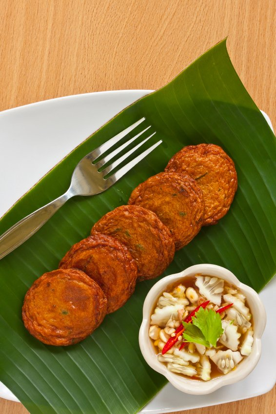 Thai Fish Cakes With Cuber Relish Click To Enlarge