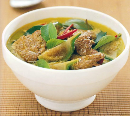 Thai Green Curry with Beef