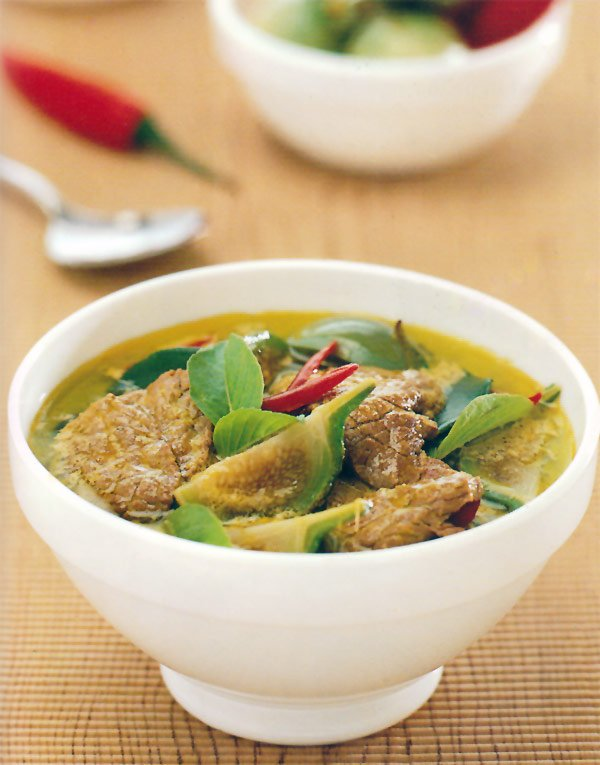 how to make thai green curry thicker