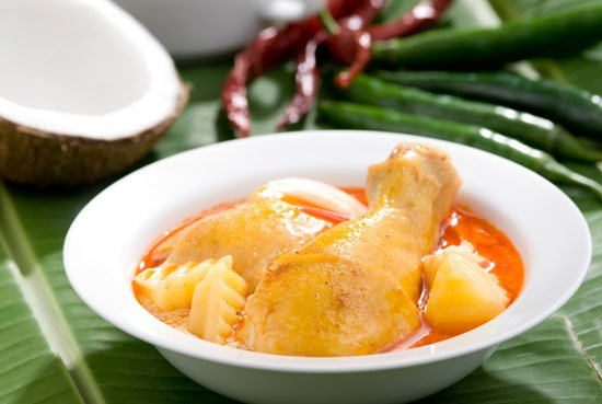 Yellow Curry with Chicken - Gaeng Gari Gai